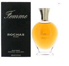 Parfum ROCHAS FEMME EAU DE TOILETTE 100ML Neuf Et Sous Blister