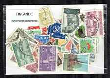 Finlande - Finland 50 timbres différents