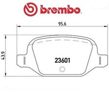 P23064 Kit pastiglie freno, Freno a disco (MARCA-BREMBO)