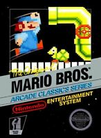 Mario Bros.(Arcade Classic) - Nintendo NES Game Authentic