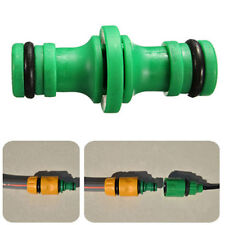 2PCS 1/2Inch male to 1/2Inch male quick connector For Garden Hose Pipe Water Hot