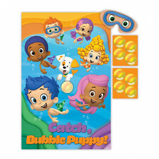 Bubble Guppies Childs Fiesta Juego como Pin la cola en burro Party Supplies