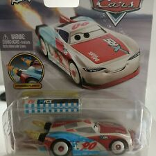 Disney Pixar Cars - Rocket Racing Paul Conrev with Blast Wall Official Diecast
