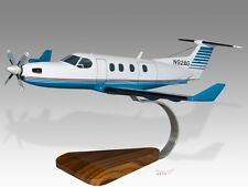 Pilatus PC-12 Wood Desktop Airplane Model