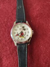1960 Walt Disney Productions Working Mickey Mouse Wristwatch with Original band.