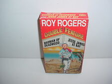 Roy Rogers Badman of Deadwood Jesse James at Bay VHS Video Tape Movie