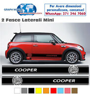 Adesivi MINI stripes MINI fasce MINI COOPER + LOGO