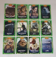 Star Wars Disney Shop UK Exclusive The Return of the Jedi Trading Card Set