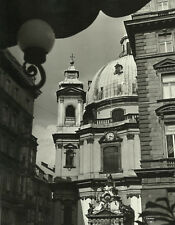 Kirche 1 - sw Foto aus der 70er Jahre 28 x 22 cm signiert Fotokunst Photo