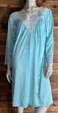 New listing Vintage Shadowline Aqua Size Medium Robe #7266
