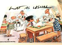 LAT AS USUAL-by Lat (Mohammad Nor Khalid) (Author) PB-PRINTED IN MALAYSIA-COMICS