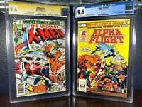 First Appearance ALPHA FLIGHT Uncanny X-Men 121 CGC 9.6 Signed Lee ss 1st 1 UPC
