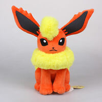"Official 11"" 28Cm Flareon Licensed Pokemon Plush Toys Soft Stuffed Animal Doll"