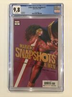 X-Men: Marvels Snapshots #1 CGC 9.8 beautiful Alex Ross Cyclops cover UNCANNY