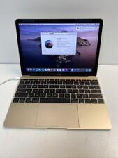 "Apple MacBook 12"" Laptop MK4M2LL/A (Retina 2015, Gold) 1.1 GHz Intel Core M 8GB"