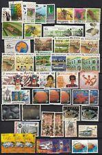 SINGAPORE  1982  1997  lot of 52 stamps   british colonies   malaya