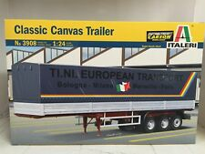 +++ Italeri 1:24 CLASSIC CANVAS TRAILER 3908