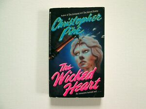 Christopher Pike The Wicked Heart 1993 1990s Vintage Horror Thriller Scary Book