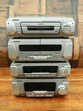 More details for technics sa-eh750 hifi system tuner amplifier tape deck and 5 cd player