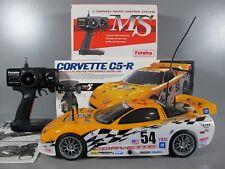 Rare Tamiya 1/10 R/C Corvette C5-R Racing TA04-S Belts Drive 4WD ESC Transmitter
