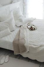 Plaid Quilt Tagesdecke Bettüberwurf  130 x 180 Shabby Landhaus