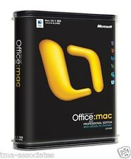 Microsoft Office 2004 Professional Edition for Mac with Windows XP Virtual PC