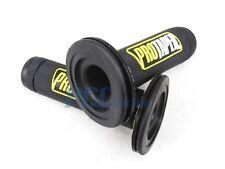 YELLOW Dual Density Full Diamond MX Grips Dirt Bike ATV 9 GR05