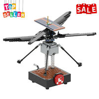 Helicopter 1:3 Scale Model MOC-51015 Toys Sets for NASA Mars Perseverance Rover