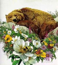 Bev Doolittle LE: Bugged Bear - Hand Signed and Numbered 2/1000 w/ COA