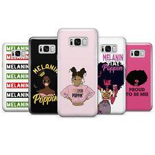 Melanina cambias AFRO Chica casos de teléfono y cubiertas para SAMSUNG S8 S9 S10 9 10 NOTE