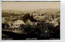 (Gp647-402) Real Photo of WELBURG, Hesse, Germany c1900 Unused VG
