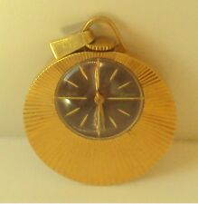 "VINTAGE BEAUTIFUL GOLD PLATED RUSSIAN MECHANICAL WOMEN WATCH""SLAVA-PENDANT""# 826"