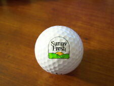 Logo Golf Ball-Sunny Fresh Foods.