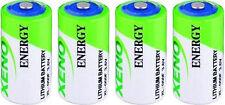 4 Pk XENO Equivalent to the LS14250 1/2 AA  3.6V LITHIUM BATTERY