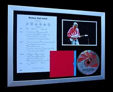 DIRE STRAITS Romeo And Juliet QUALITY CD MUSIC FRAMED DISPLAY+FAST GLOBAL SHIP