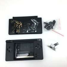 Black Pokemen full Housing Shell Buttons + Screwdriver For Nintendo DS Lite NDSL