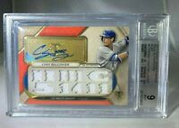 1/1⚾💥 2017 Triple Threads CODY BELLINGER AUTO BGS 9.0 Mint RC 10 Autograph