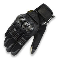 Leather Touch Screen Motorcycle Gloves Sport Motorbike Racing Street MAD-02L