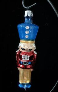 "Radko ""Palace Guard"" Mouth Blown Polish Glass Christmas Tree Ornament"