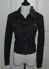 NWOT R.E.D. Valentino Women's Jeans Jacket  Size 42 Color Dark Blue