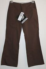 Mountain Hardwear Pants 6 Brown Low Rise Straight Leg Flare NEW NWT FREE SHIP