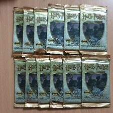 HARRY POTTER TRADING CARD GAME 2001 FACTORY SEALED BOOSTERS PT