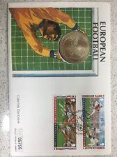 Guernsey 1996 European Football £5 Coin Cover Ltd No. 05759