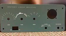 Heathkit SB-200 front panel replacement overlay