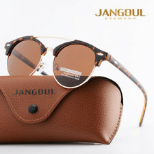 Fashion Vintage UV400 Outdoor Shades Women Retro Round Polarized Sunglasses Bron