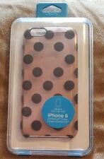 iPhone 6 Uncommon Deflector Case Halftone Lace Dots Nude