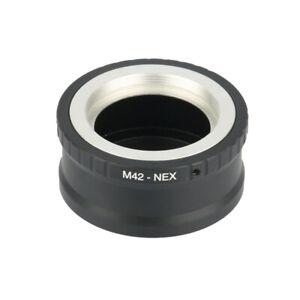 Adjustable 42mm M42 lens to Sony E-Mount NEX-7 NEX-5R NEX-5T adapter