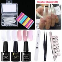 10/20pcs Fibernails Fiberglass for Nail Extension Acrylic Nail Tips  Kit