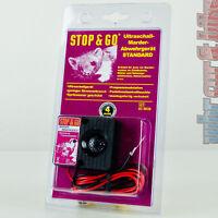 Stop&Go 12V Standard Marderabwehrgerät 07535 Ultraschall Marderschutz Piezo