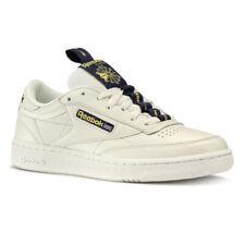 Reebok Classic Leather Club C 85 Retro Mens White Trainers Sports Shoes UK 7.5